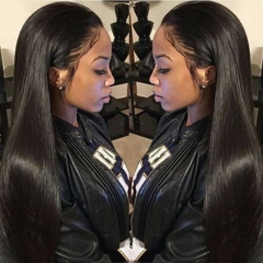 Straight 360 Lace Frontal Wigs Human Hair Wigs Natural Hair Line Wigs